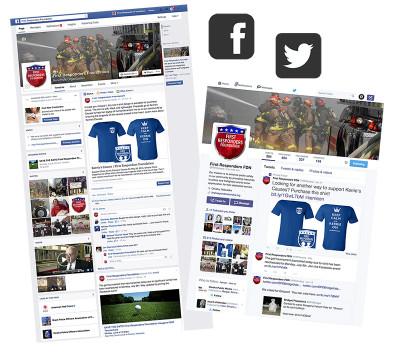 First Responders Foundation: Social Media