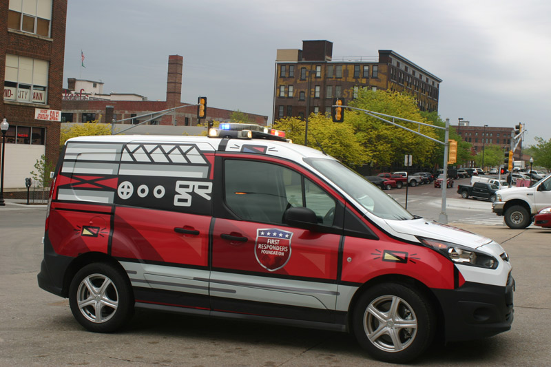 First Responders Foundation: Vehicle Wrap