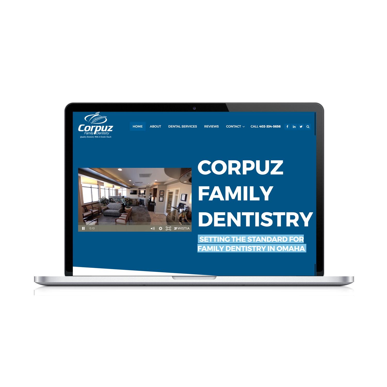 Corpuz Family Dentistry Website