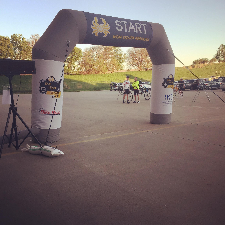 Wear Yellow Ride Event Branding